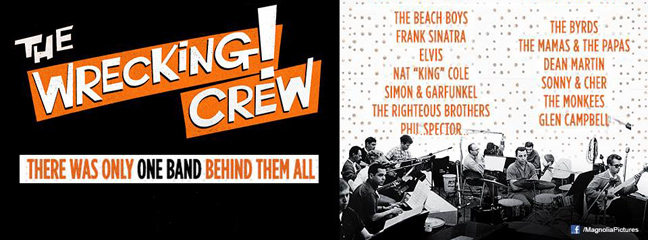 The Wrecking Crew comes to The Nickelodeon Theatres
