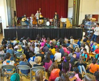 Artists in the Schools, Gault Elementary, February 19, 2015