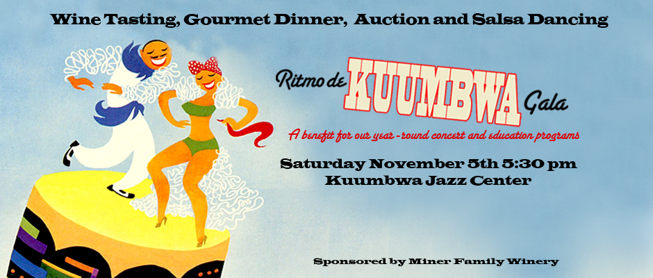 Thank you for supporting Kuumbwa Jazz!