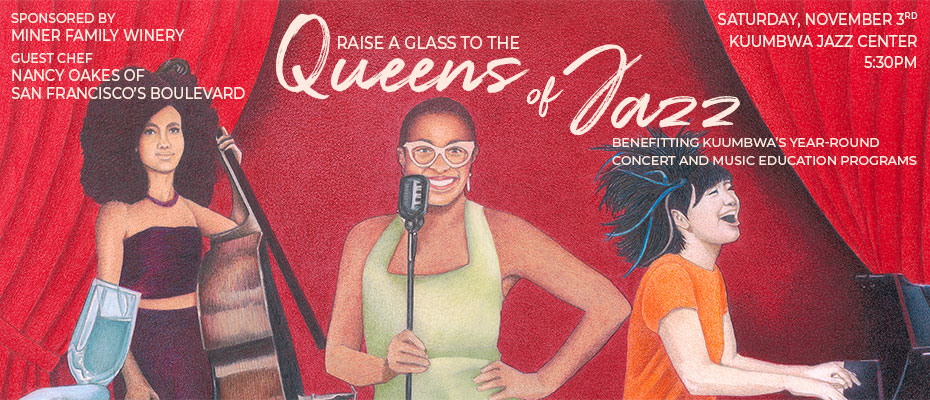 Raise A Glass To The Queens Of Jazz